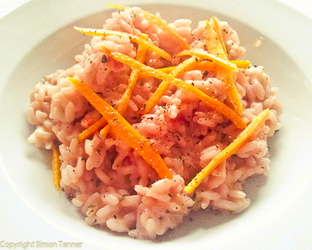 risotto arance rosse
